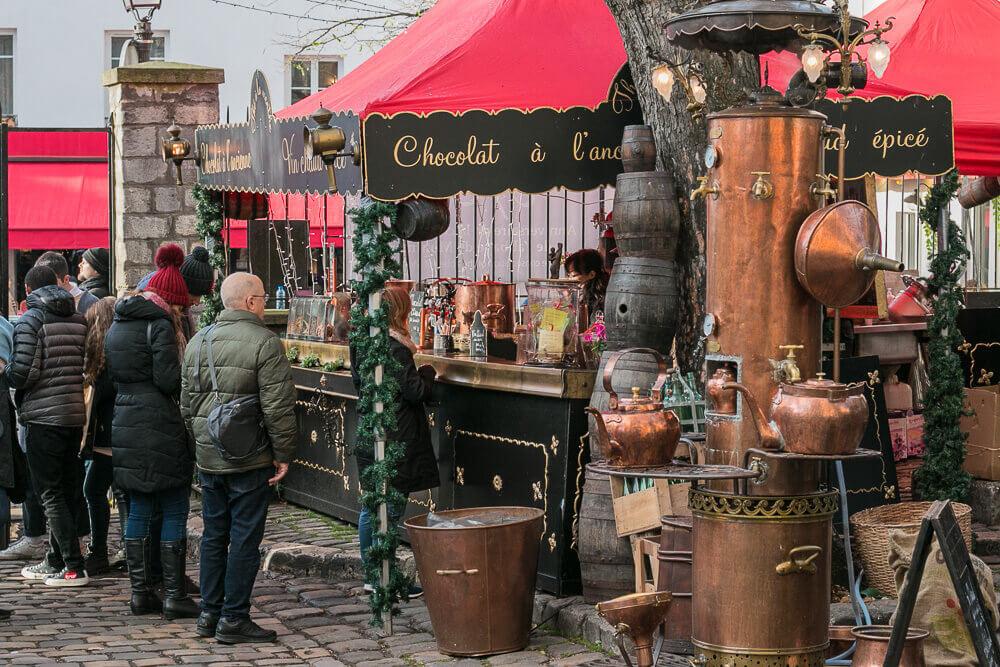 Weihnachtsmarkt am Montmartre