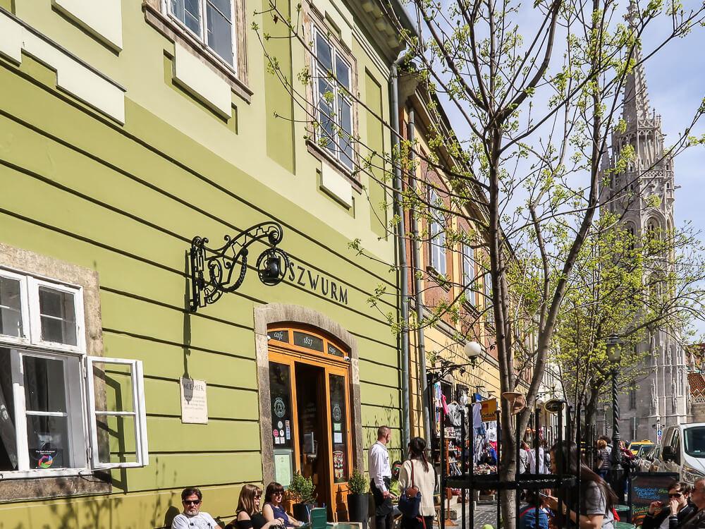 Café Ruszwurm im Stadtteil Pest