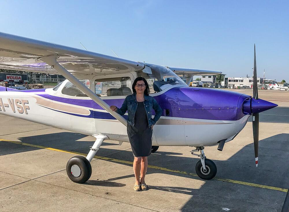 Rundflug über Flevoland mit der Cessna