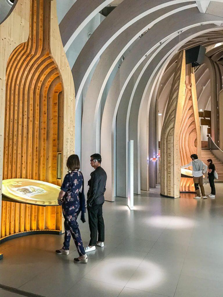 Ausstellung in der Cité du Vin