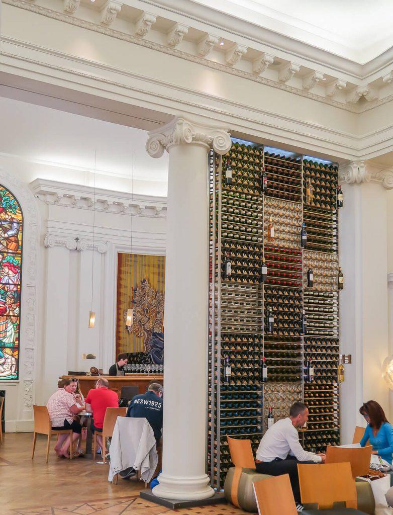 Die Weinbar der Ecole du Vin in Bordeaux