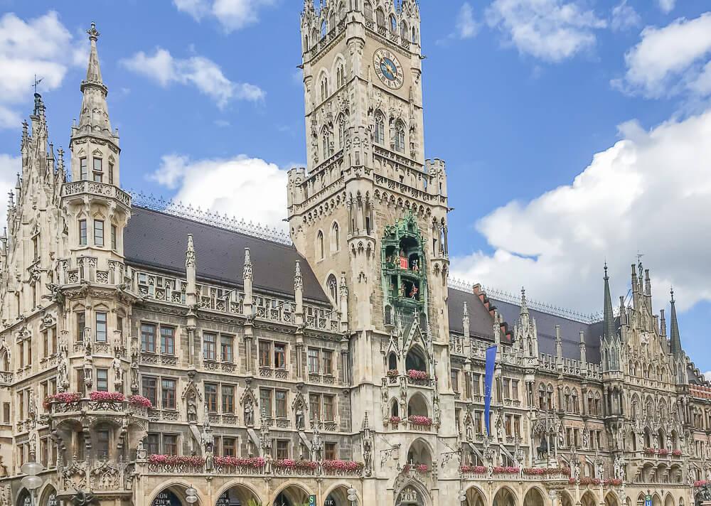 Rathaus am Marienplatz München