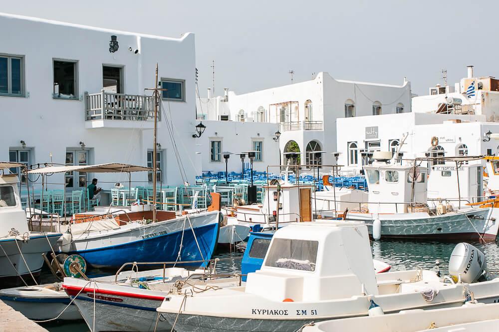 alter Hafen von Naousa, Paros