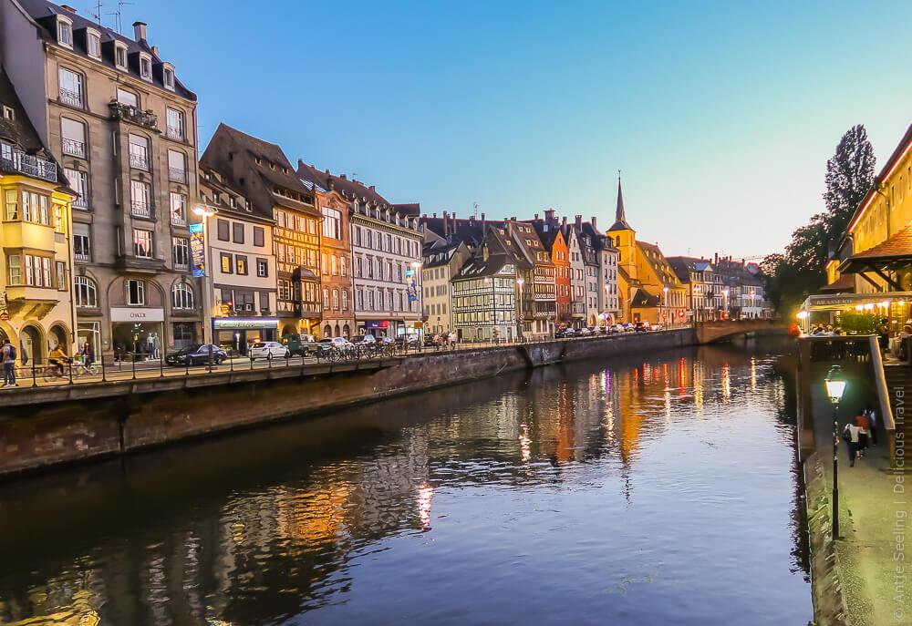 Reisen an der deutsch-französischen Grenze: 3 Tage in Strasbourg und Karlsruhe (1/2)