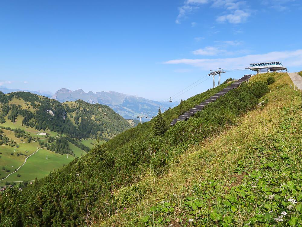 Bergstation Sareis