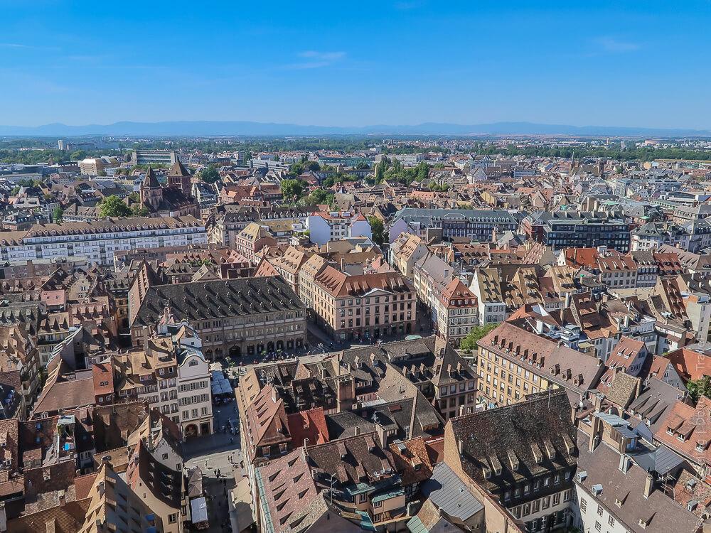 Strasbourg von oben