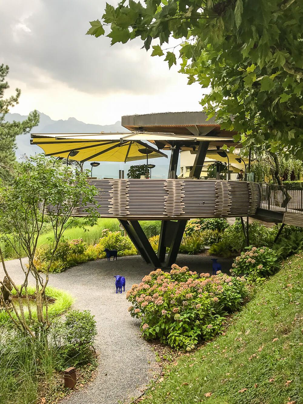 Adlernest: Terrasse des Restaurants Marèe