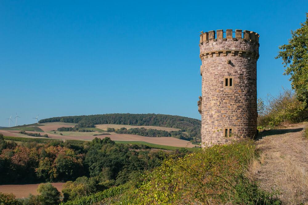 Ajax-Turm auf der Hiwweltour Heideblick