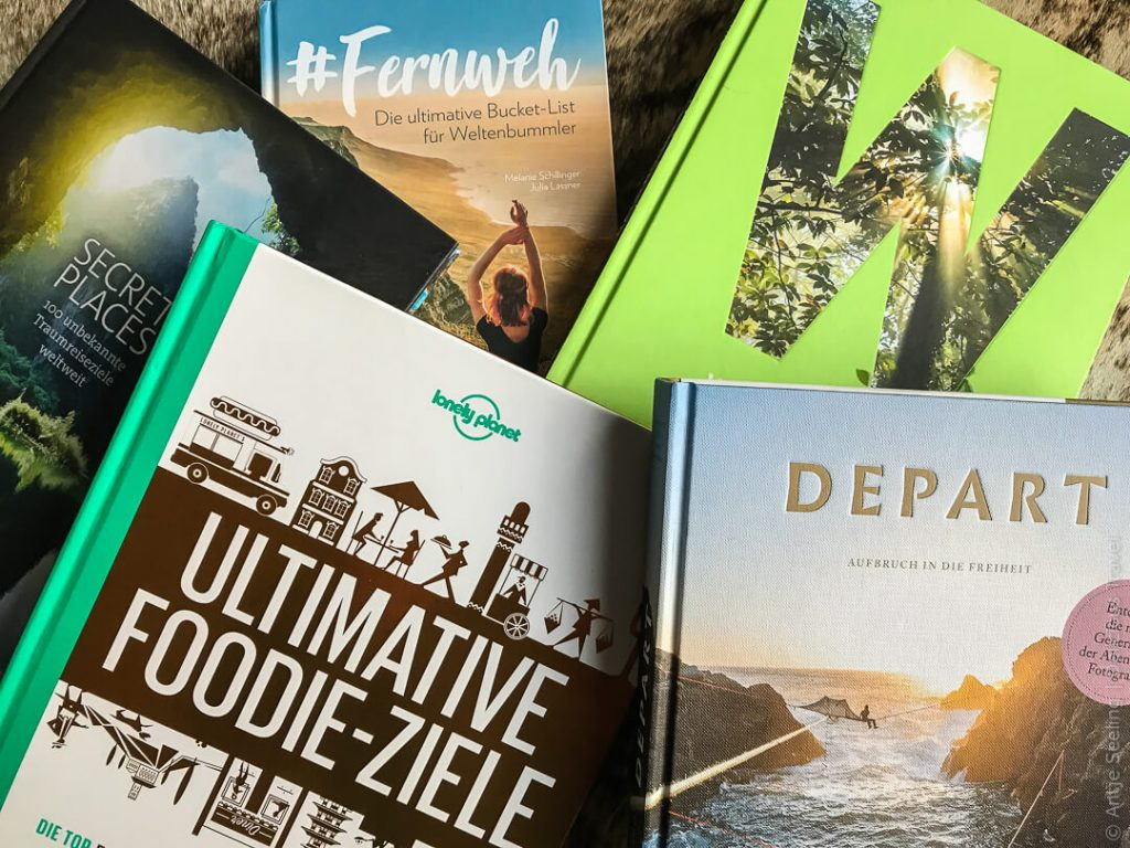 Fernweh verschenken – 12 ausgewählte Buchtipps für Reisefans