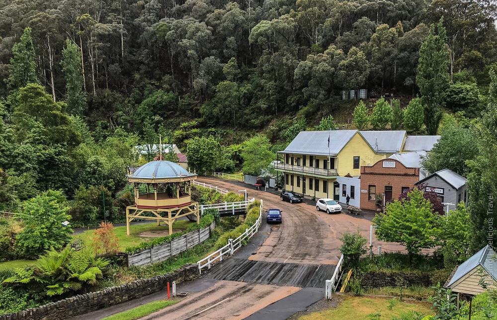 Goldgräberort Walhalla, Australien