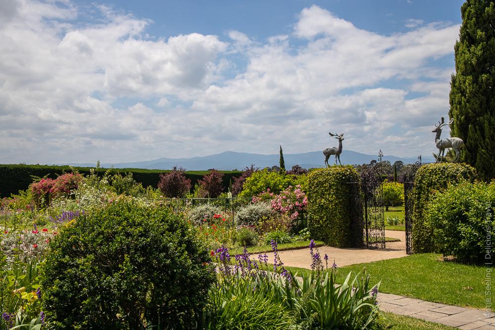 Coombe Melba Estate Garten