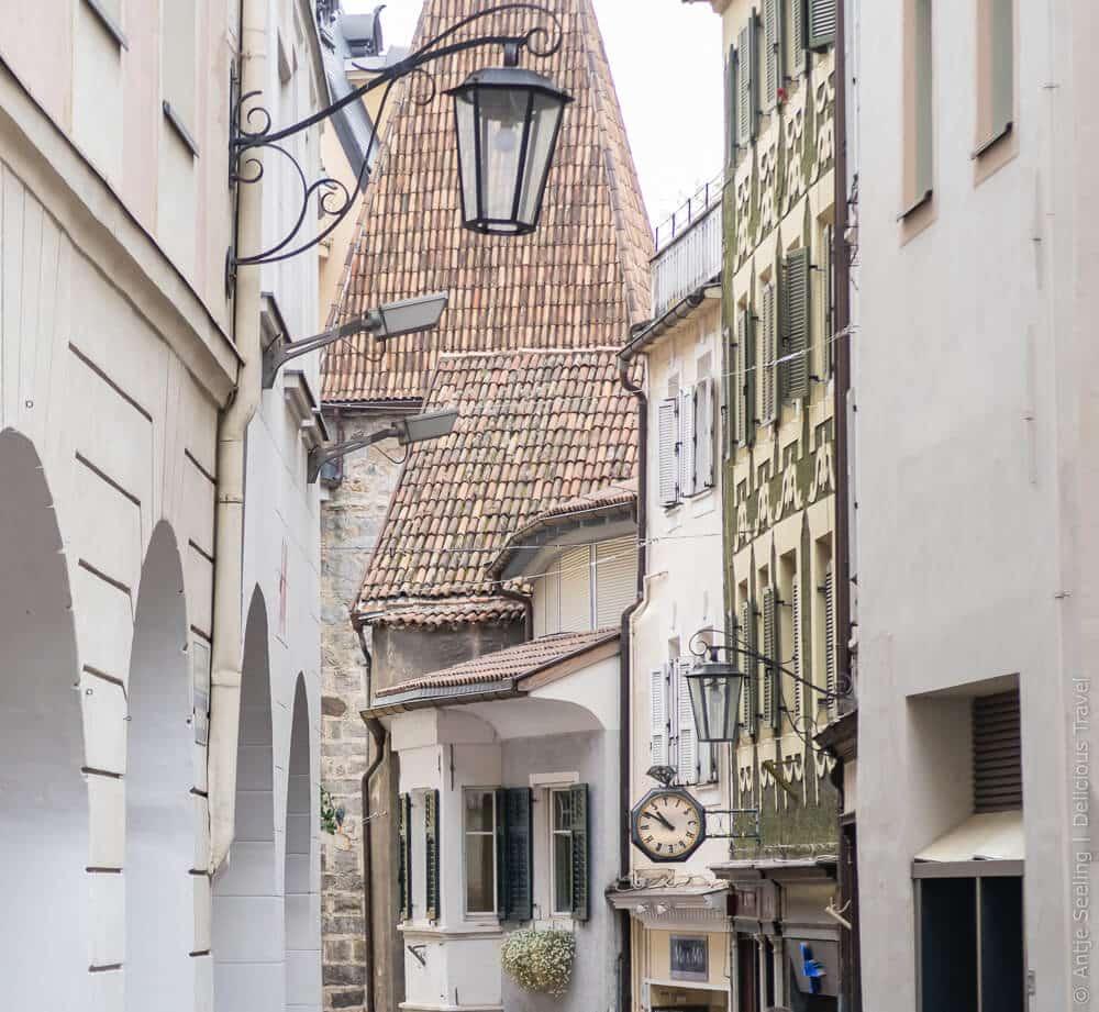 Altstadt in Meran