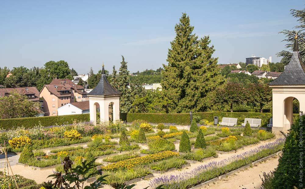 Pomeranzengarten am Leonberger Schloss