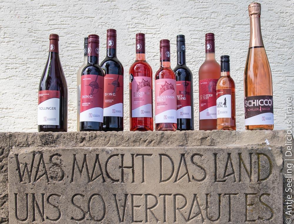 Weine der Marbacher Weingärtner