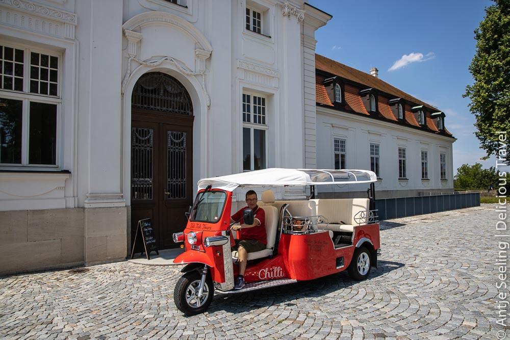 Marbach am Neckar: Weinlese mal anders