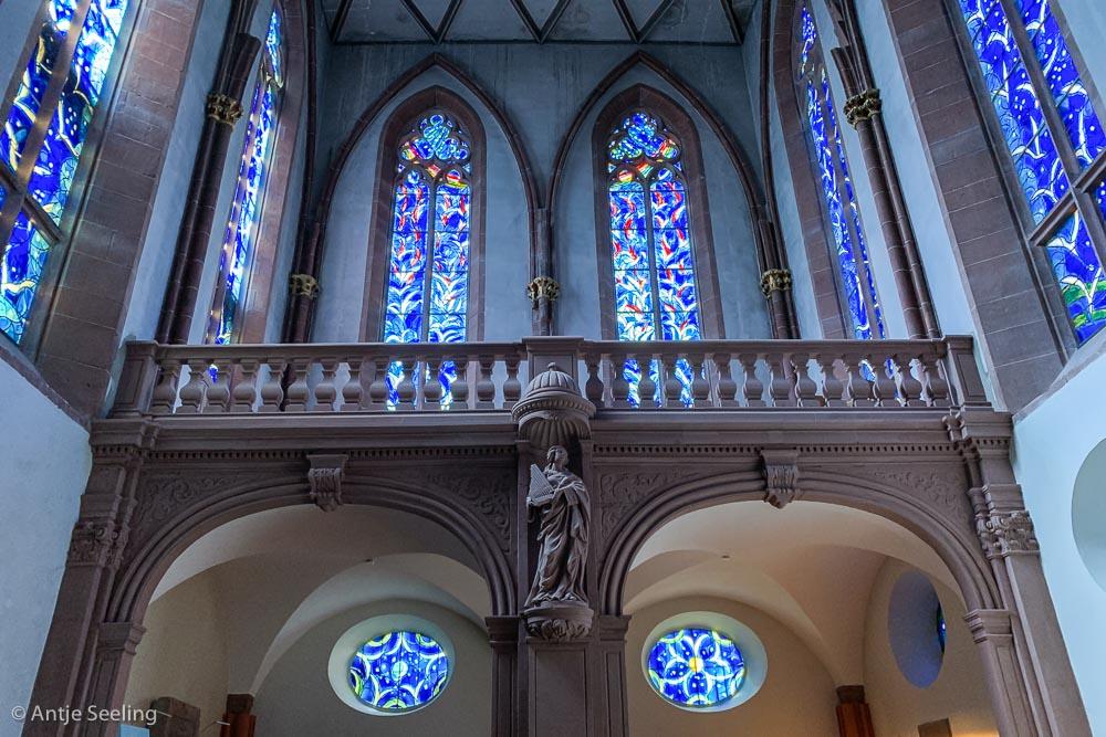 Mainz Chagall-Fenster St. Stephan Kirche