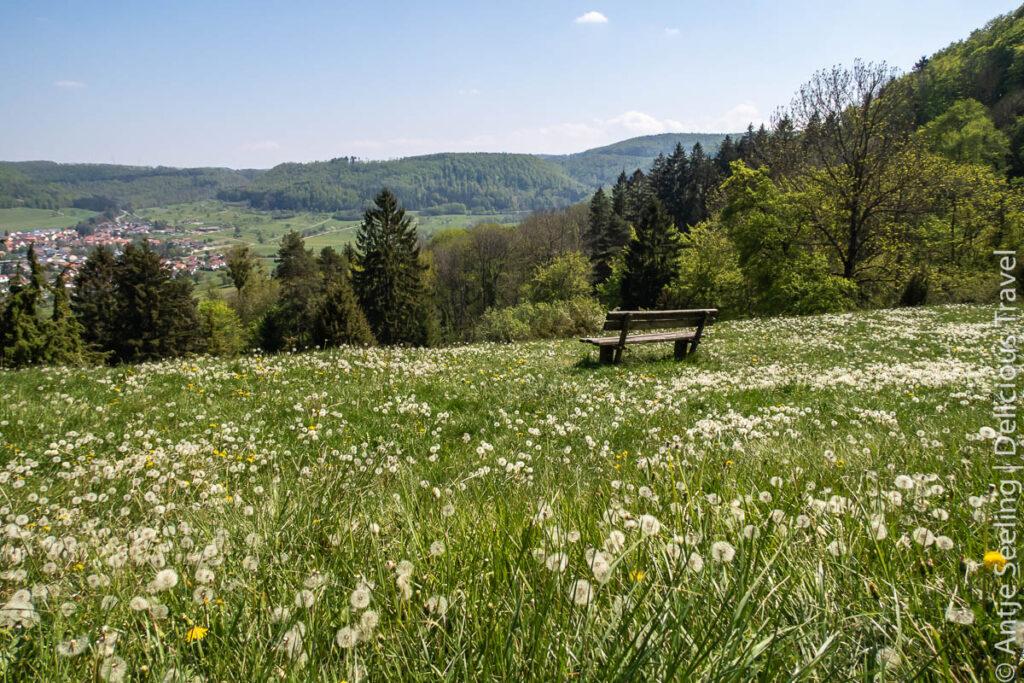 Schwäbische Alb Wanderung Mössinger Dreifürstensteig