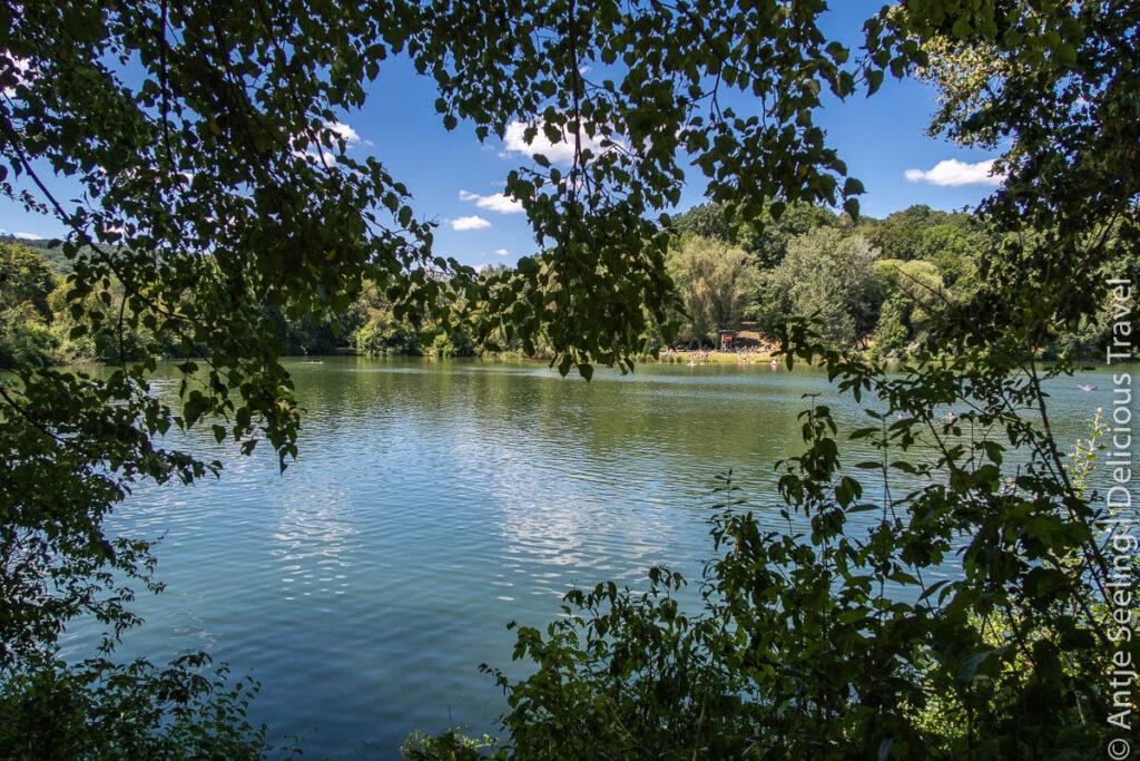 Wandergenuss und Badespaß: Drei-Seen-Weg im Zabergäu