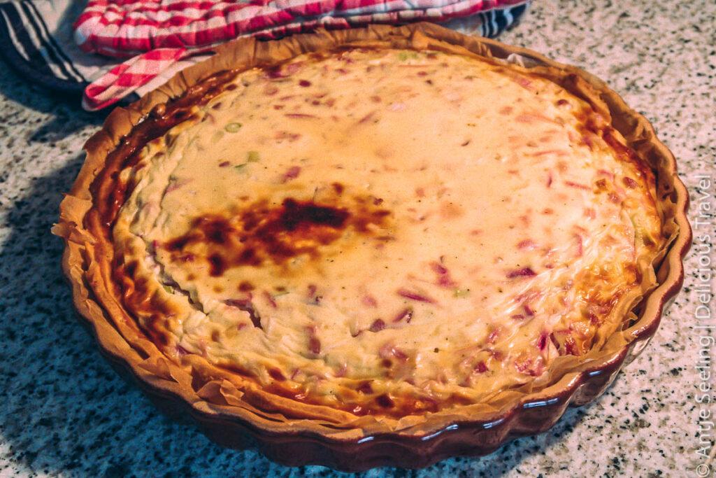Quiche Lorraine Rezept Zwiebelkuchen
