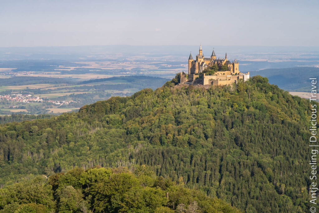 Burg Hohenzollern Traufgang Zollernburgpanorama