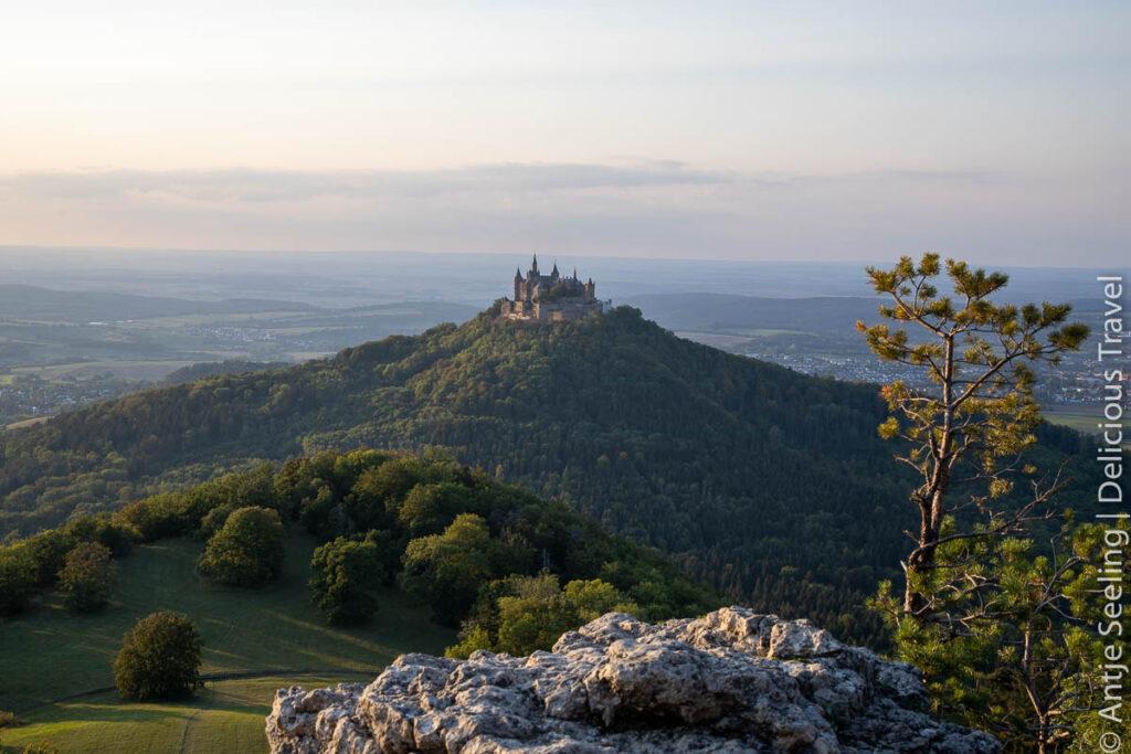 Traufgang Zollernburg Panorama Burg Hohenzollern