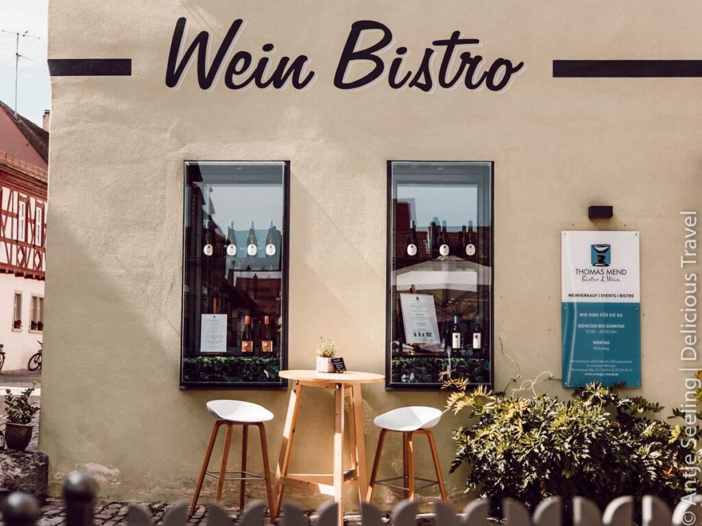 Weinbistro Iphofen