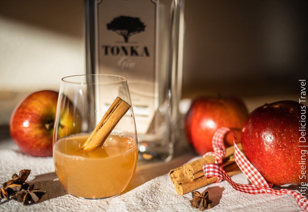 Der besondere Winterdrink: Tonka Gin Hot Apple