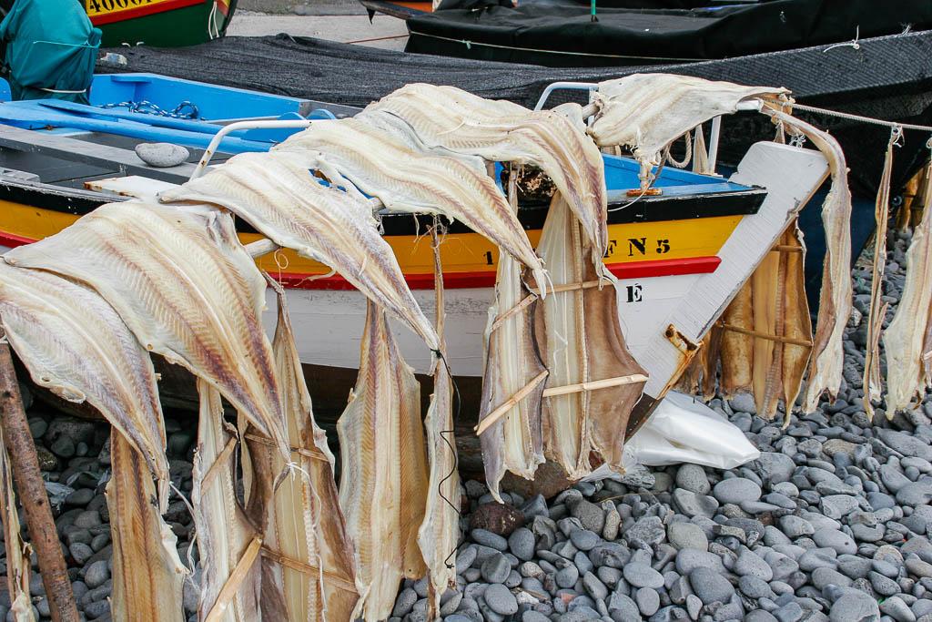 Fischerboote auf Madeira