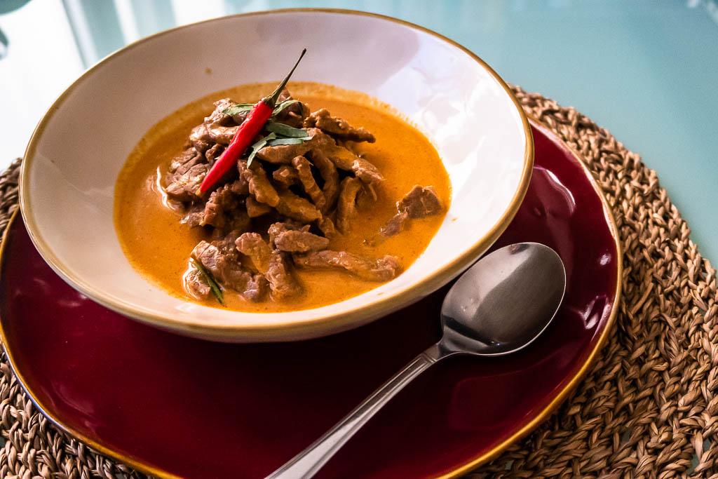 Panang Curry mit Rind –Original Thai-Rezept