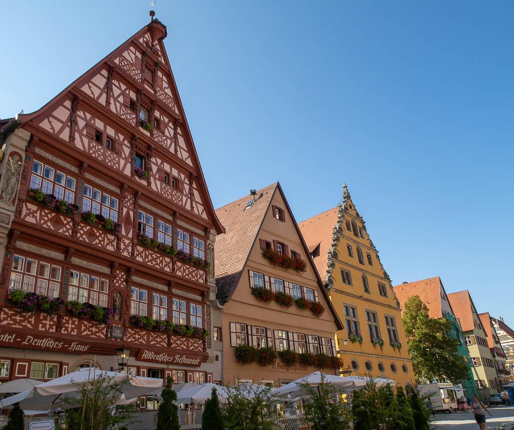 Dinkelsbühl, eine der schönsten Städte in Bayern