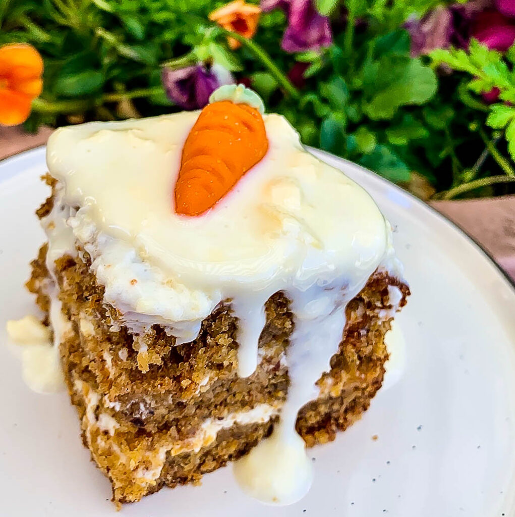 Carrot Cup Cake mit Frosting (Karottenkuchen-Muffins)