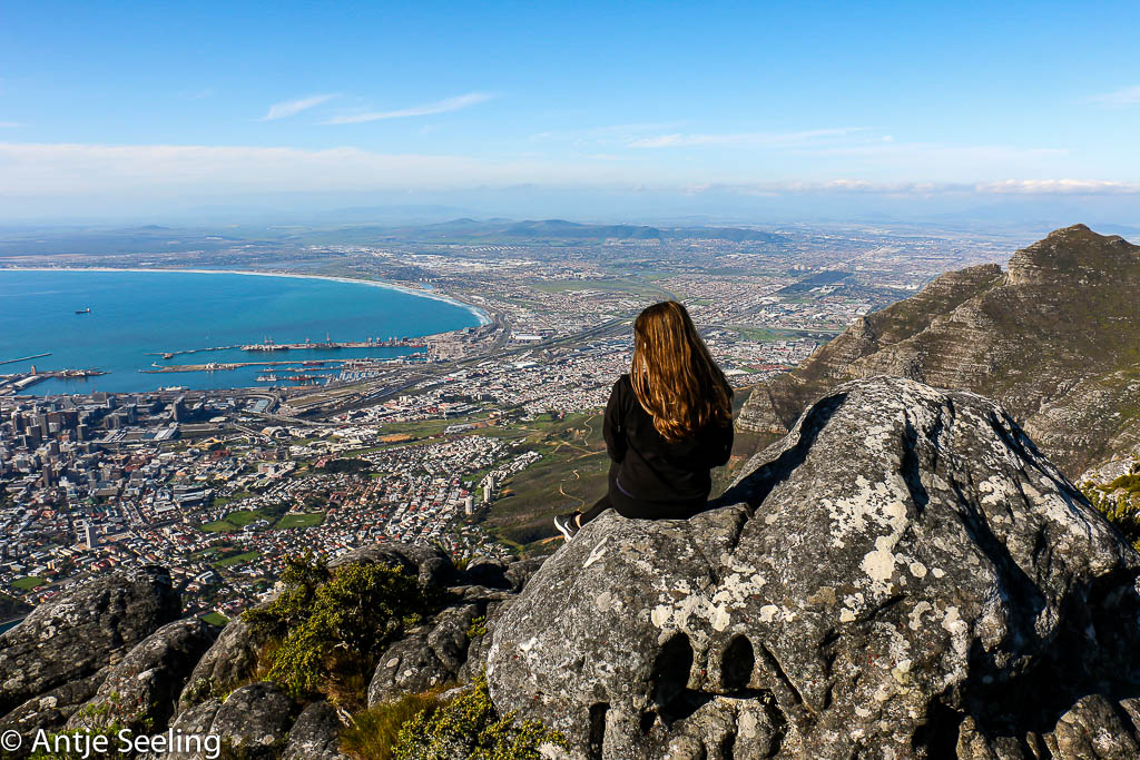 Blick vom Tafelberg Kapstadt