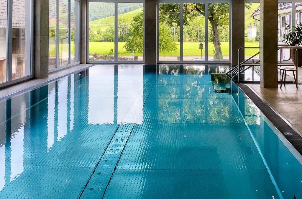 Pool im Landidyll Hotel Zum Kreuz im Glottertal