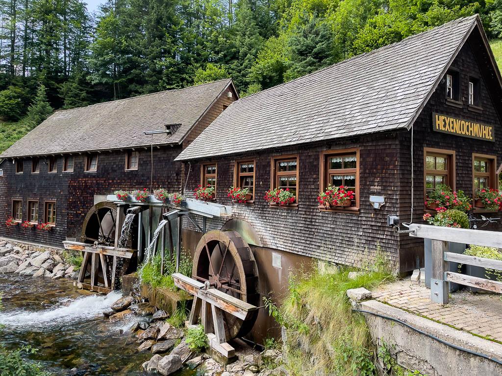 Hexenlochmühle im Schwarzwald