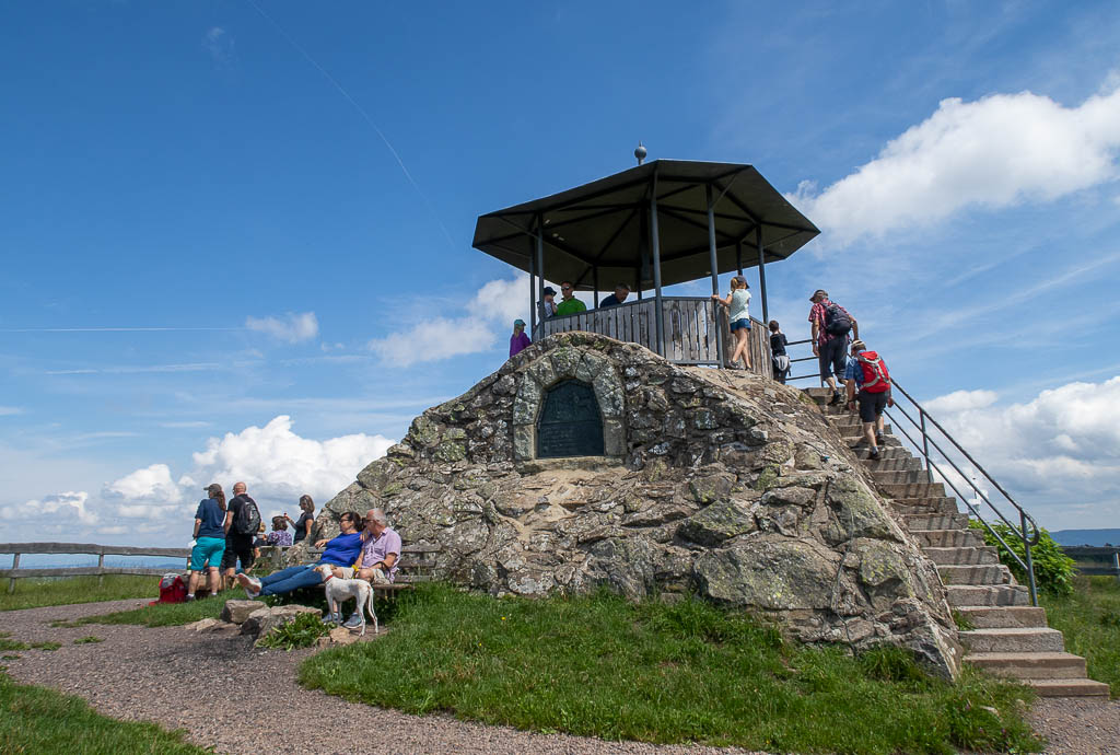 Aussichtspunkt auf dem Kandel, Schwarzwald