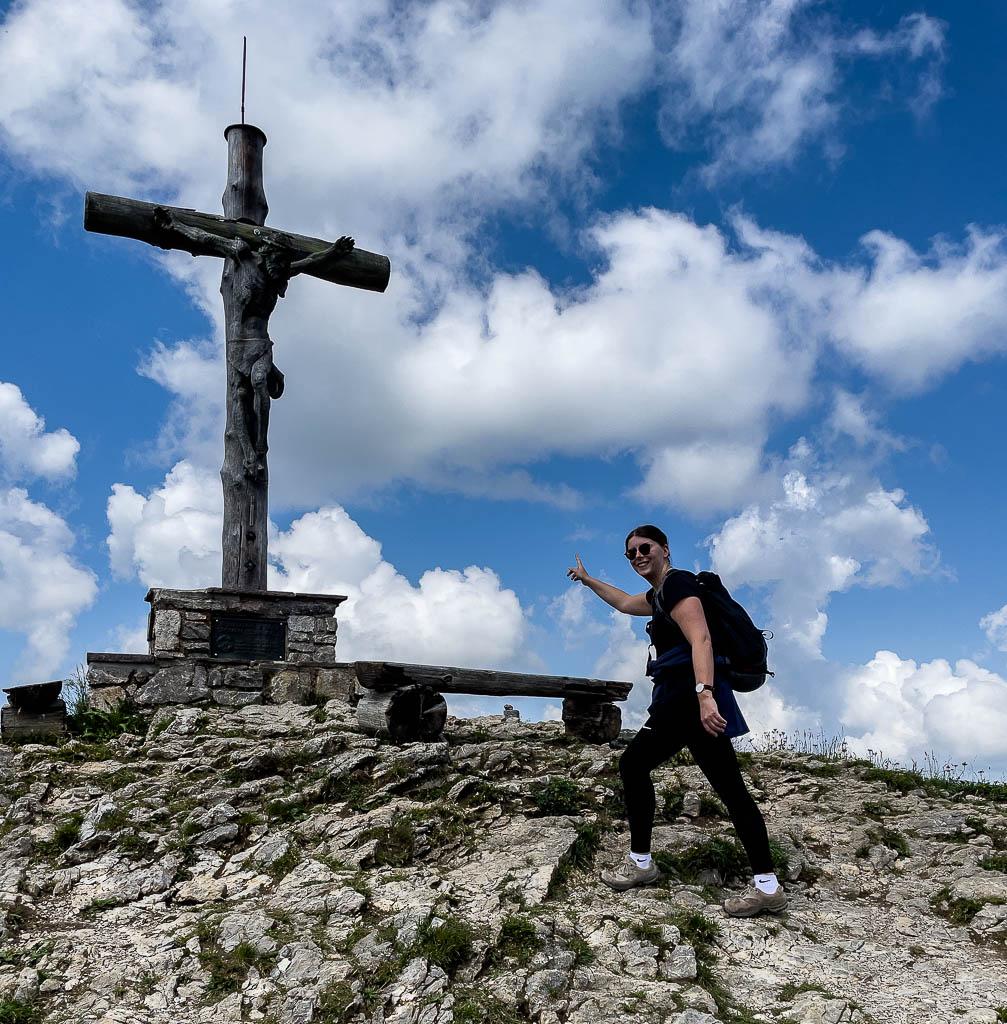 Neunerköpfle Gipfelkreuz
