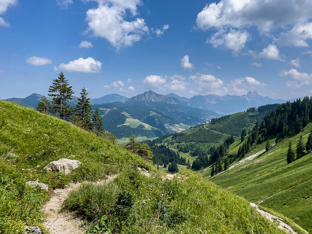 Abstieg nach Schlattwald